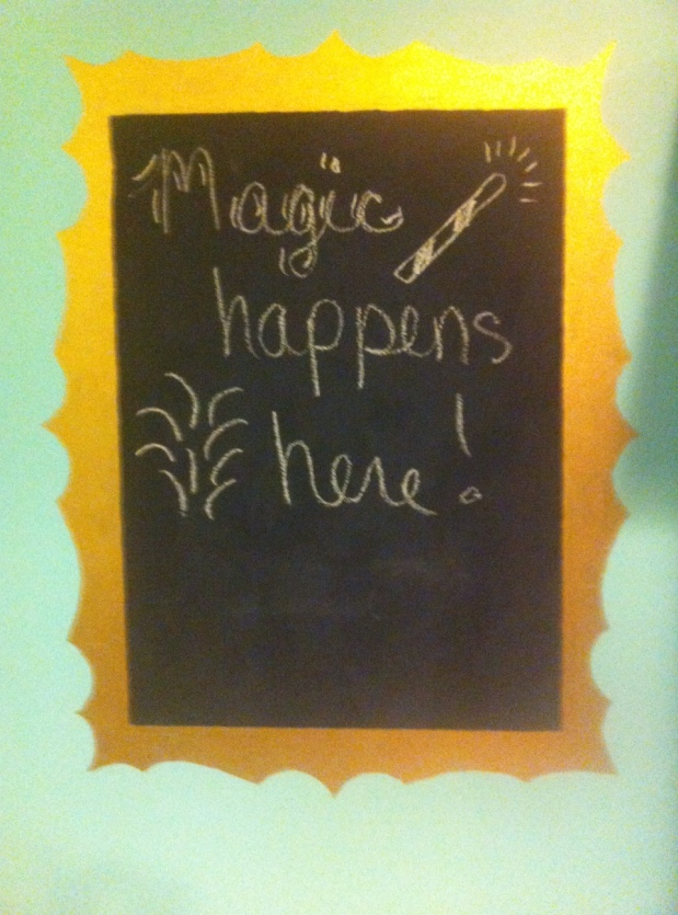 Magic Happens Here!